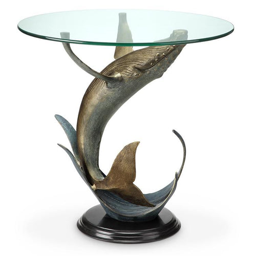 Whale End Table-Iron Home Concepts