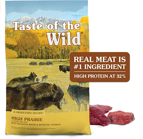 Taste of the Wild Dry Dog Food - Adult Dogs All Sizes