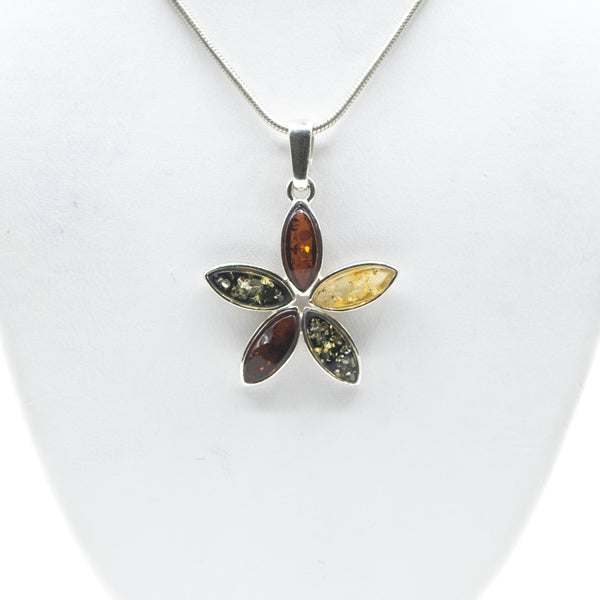 Mixed Amber Pendant