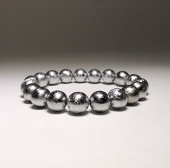 Endless Beaded Bracelet Meteorite 10mm Beads