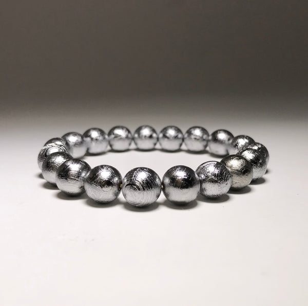 Endless Beaded Bracelet Meteorite 8mm Beads