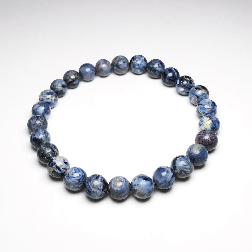 Endless Beaded Bracelet Pietersite 8mm