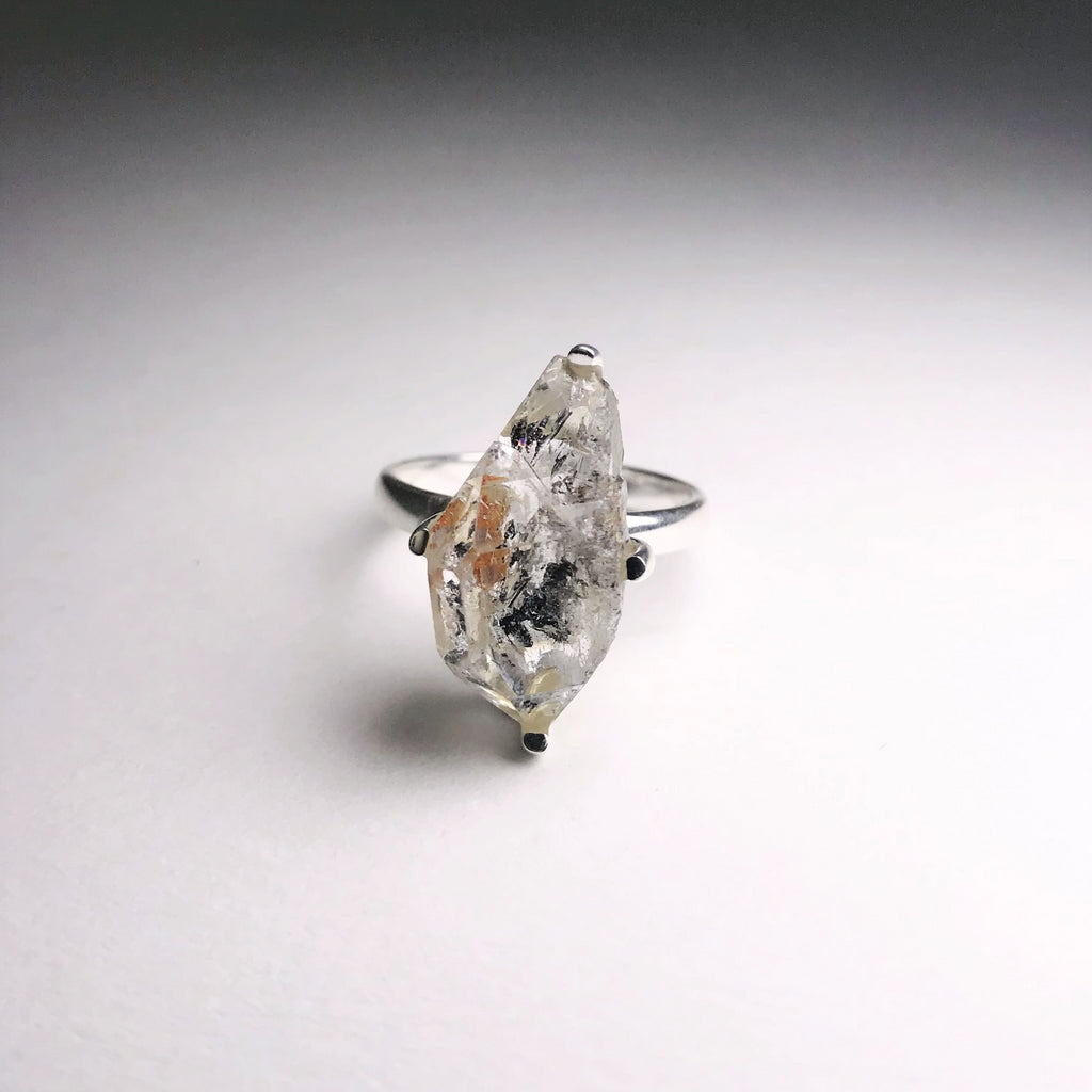 Ring Herkimer Diamond