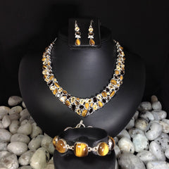 Rocks and Gems Canada, gems, necklaces, tiger eye