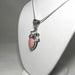 Pink Peruvian Opal and Pearl Pendant