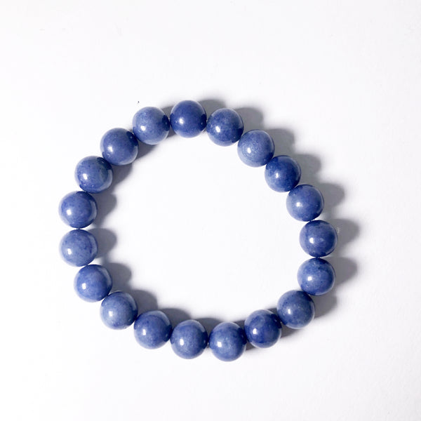 Blue Aventurine Beaded Bracelet