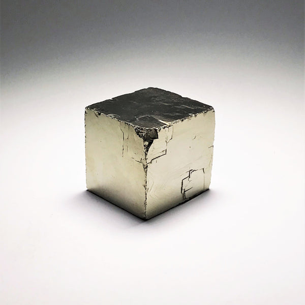 Iron Pyrite Cube - Large