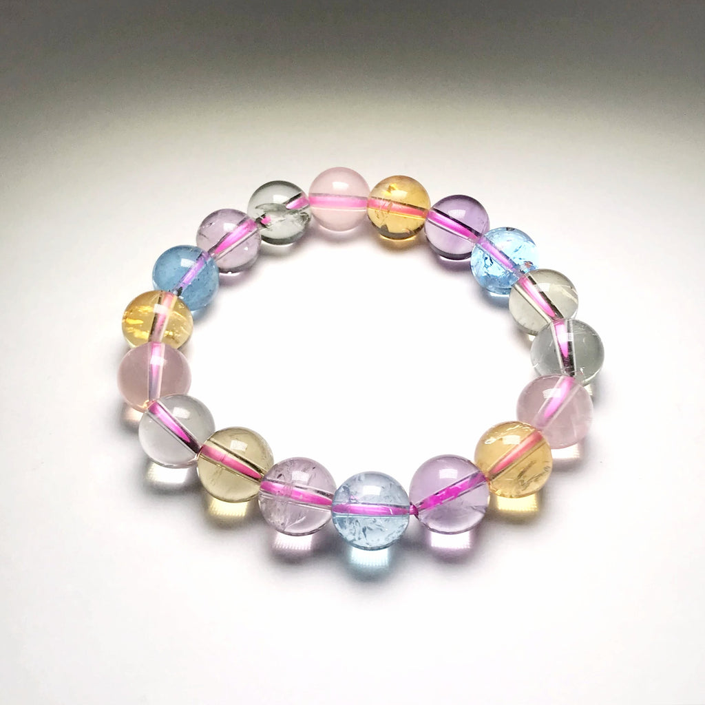 Multistone Beaded Bracelet