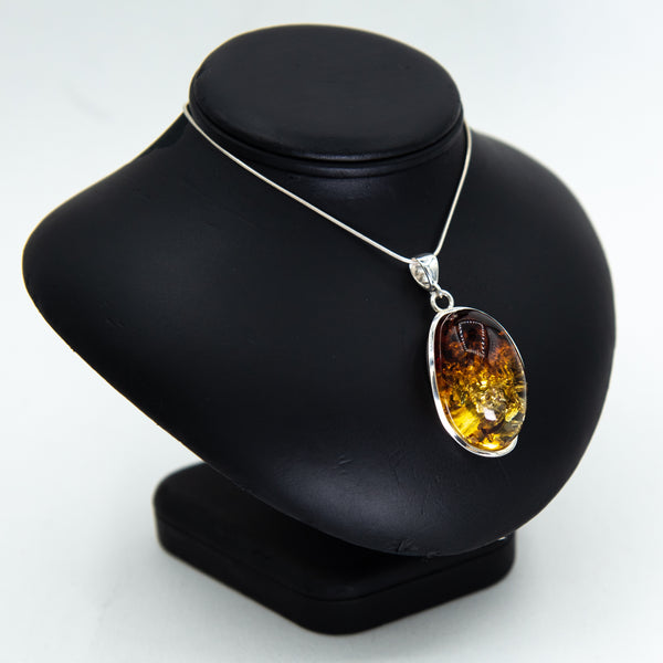 Ombre Amber Pendant