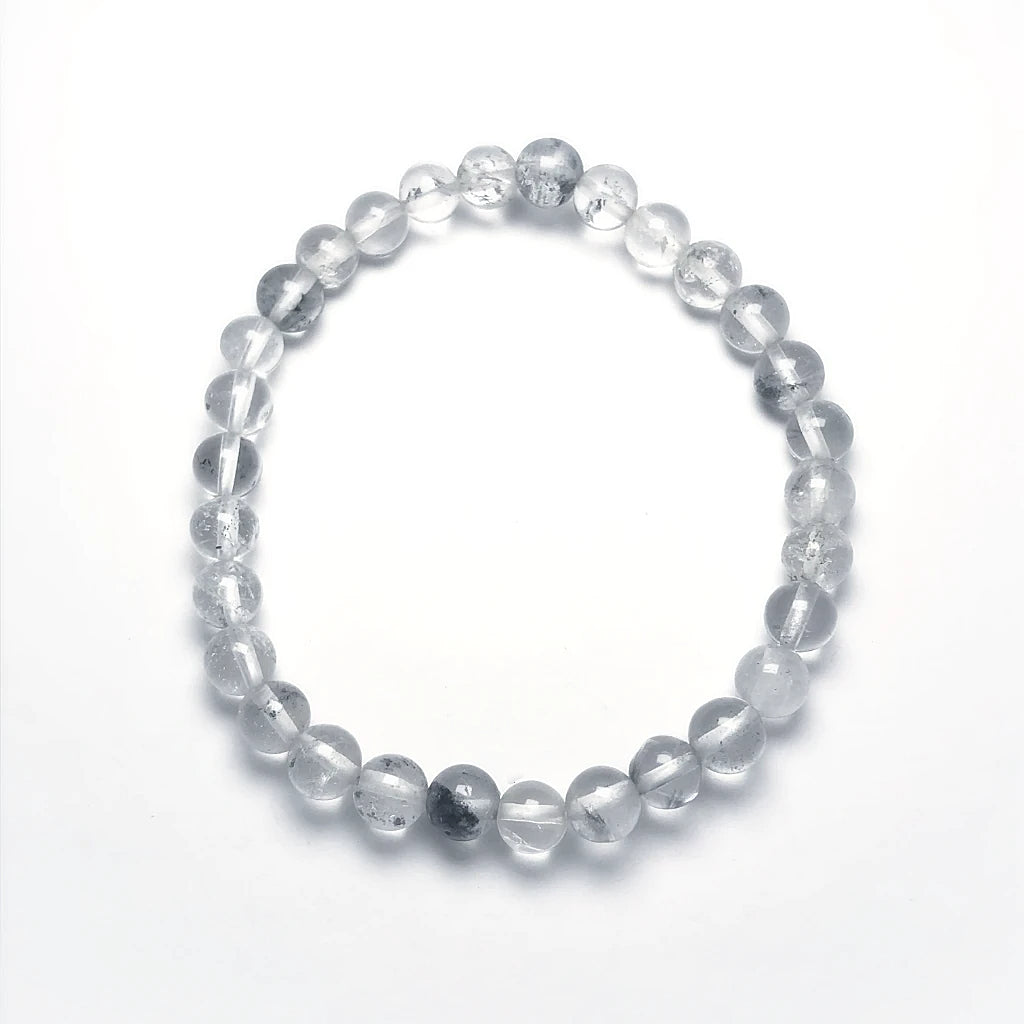 Juniper Quartz Beaded Bracelet - 6mm