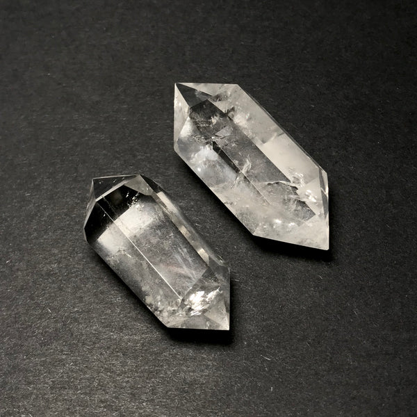 Double Terminated Clear Quartz Point