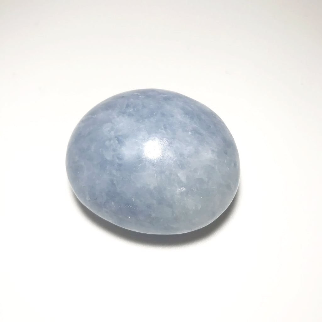 Blue Calcite Tumble