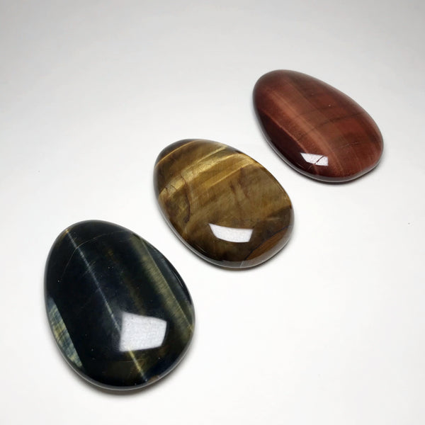 Worry Stone - Tiger Eye