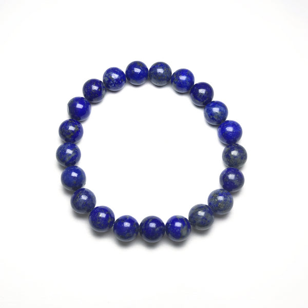 Lapis Lazuli Beaded Bracelet - High Quality