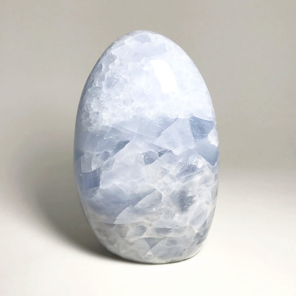 Blue Calcite Stand Up Freeform