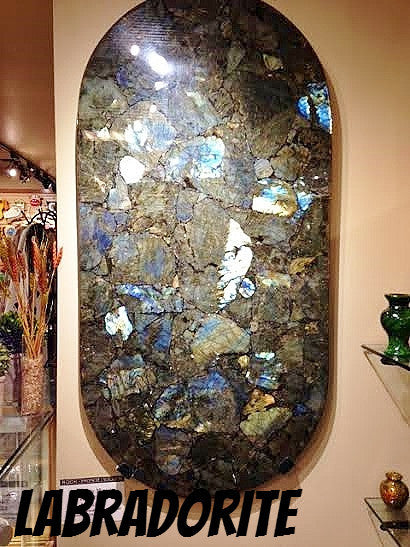 Labradorite Wall Piece