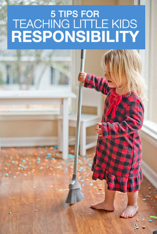 5 Tips to Teach Kids Responsibility