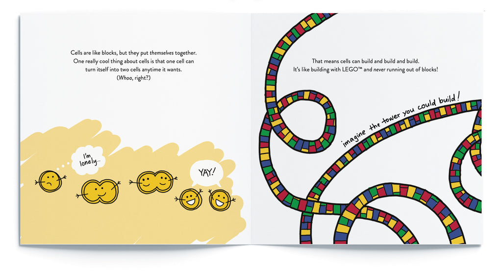 "Pages from ""What Happens When a Kid Has Cancer"", the best book for kids with cancer by Sara Olsher"