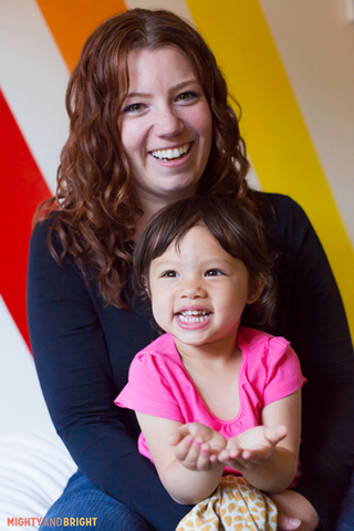 Founder Sara Olsher and her daughter