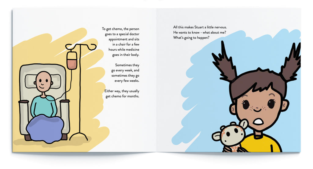 Kids' book to explain what chemotherapy is