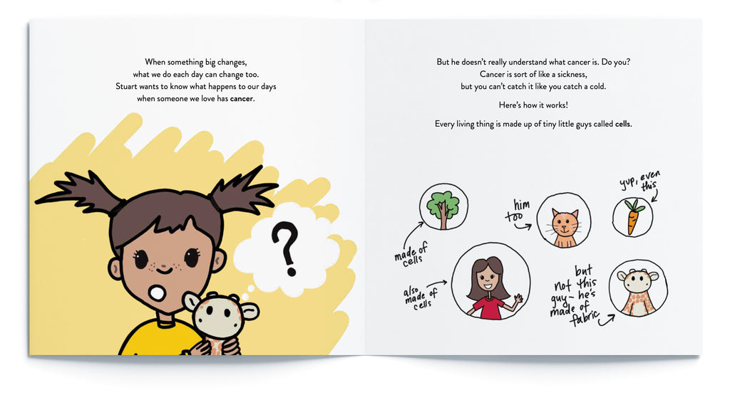 Children's book to explain what cancer is