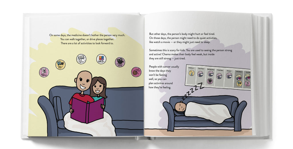 Book to help kids understand a loved one's cancer diagnosis