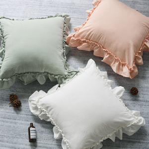 5color frill cushion
