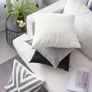 simple gray cushion