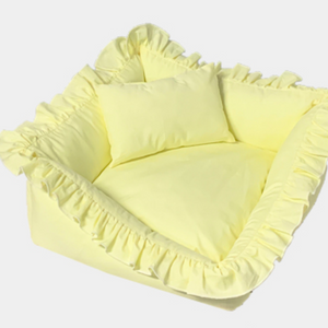 6color frill pet bed