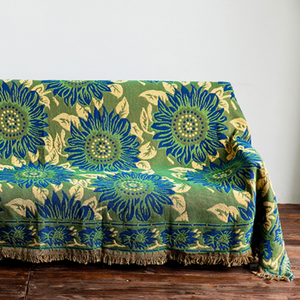 sunflower sofa cover