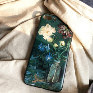 dark green flower iPhonecase