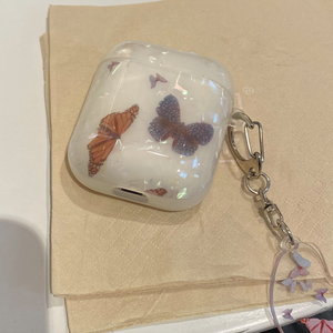 butterfly crystal Airpods case