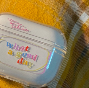 what a good day Airpods case