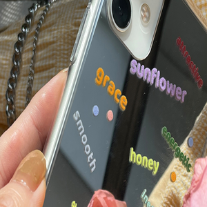 colorful logo chain iPhonecase