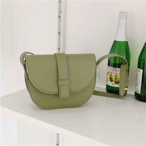 semicircle shoulderbag