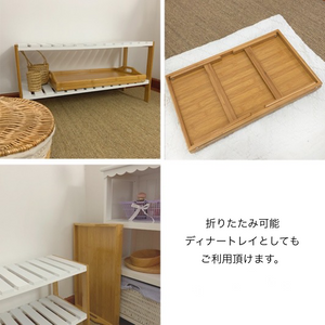 side mini bed table