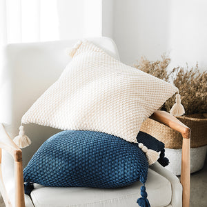 nordic tassel cushion