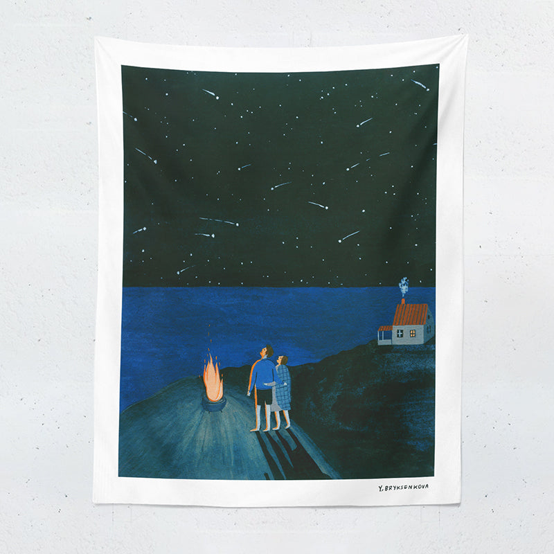 star observation tapestry