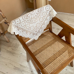 romantic lace tablecloth