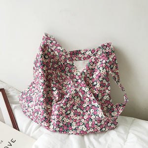 mini flower shoulder bag