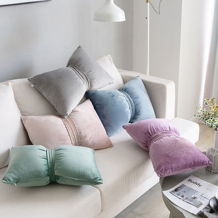 ribbon cushion