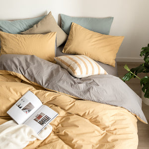 7color plain bedlinen set