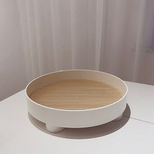 round display tray