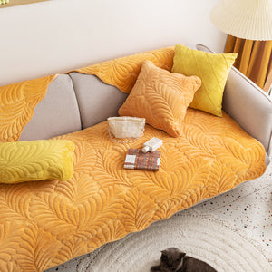 leaf 8color sofa cover