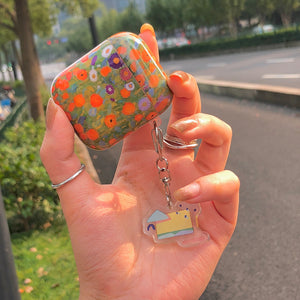 flower garden Airpods case