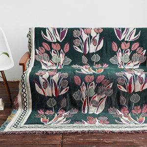 tulip reversible sofa cover