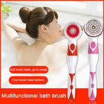 Load image into Gallery viewer, Electric Brush Long Handle Cleaning Spa Massage Shower Body