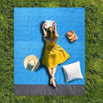 Load image into Gallery viewer, Sand Free Mat Beach Magic Beach Mat Outdoor Travel Magic Picnic Camping Waterproof Mattress Blanket Foldable Sandless Beach Mat