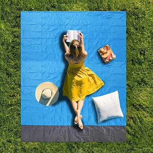 Sand Free Mat Beach Magic Beach Mat Outdoor Travel Magic Picnic Camping Waterproof Mattress Blanket Foldable Sandless Beach Mat