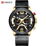 Load image into Gallery viewer, Watch for men-Sport Watches Leather Fashion